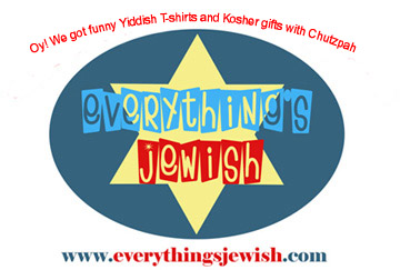 Funny Jewish shirts at everythingsjewish.com